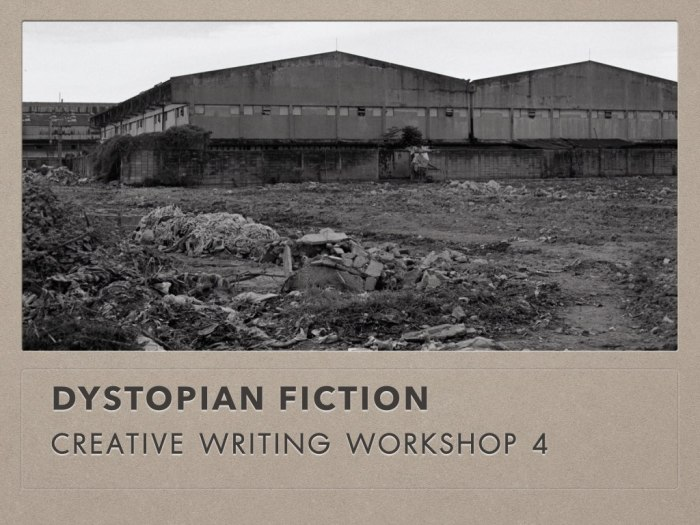 Writing Dystopia: Dystopian Fiction(Part1)